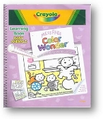 Baby Animals, Crayola Learning Book, Mess Free Color Wonder Book by Crayola, 2003