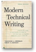 Modern Technical Writing, 3rd Ed by Theodore A. Sherman & Simon S. Johnson, 1975