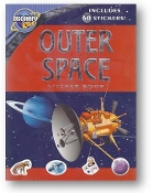 Outer Space Sticker Book, by Discovery Kids, 2008.