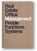 Real Estate Office Management People Functions Systems, by NAR, 1975