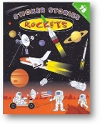 Rockets Sticker Stories by Edward Miller, Illustrator, 2007