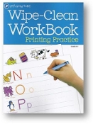 Wipe-Clean WorkBook Printing Practice, Let's Grown Smart, K-1 by Dalmation Press, 2012
