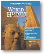 World History, The Human Experience, Enrichment Activities, 2004