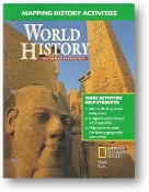World History, The Human Experience, Mapping History Activities, 2005