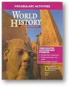 World History, The Human Experience, Vocabulary Activities, 2005
