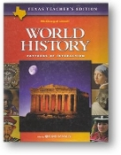 World History, Patterns of Interaction, Texas Teachers Edition, 2003