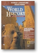 World History, The Human Experience, World Literature Selections, 2004
