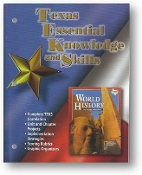 World History, The Human Experience, Texas Essential Knowledge and Skills, Complete TEKS Correction, 2003