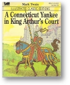 A Connecticut Yankee in King Arthur's Court by Mark Twain, 1977