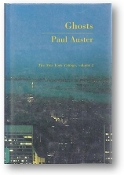 Ghosts, The New York Trilogy, Vol.2 by Paul Auster, 1986