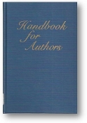 Handbook for Authors of Papers in American Chemical Society Publications, 1978