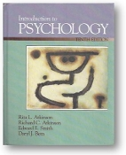 Introduction to Psychology, 10th E., by Atkinson, Smith & Bem, 1989