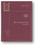 JANAF Thermochemical Tables: 2nd Edition, U.S. Department of Commerce, 1971