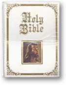 Regency Family Bible, White Imitation Leather, Thomas Nelson