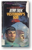 Star Trek, Yesterday's Son, #11, by A.C. Crispin, 1983