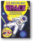 3-D Dot-to-Dot Space Book