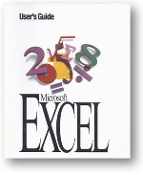 Microsoft Excel, User's Guide by MS, 1993