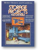 Storage Projects You Can Build by Better Homes & Gardens, 1977