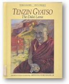 Tenzin Gyatso, the Dalai Lama by Kai Friese, 1988