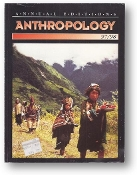 Anthropology, Annual Editions, 97/98 by Elvio Angeloni, 1997