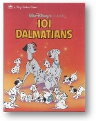 101 Dalmations, a Big Golden Book, by Walt Disney, 1991