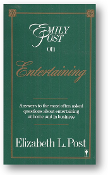 Emily Post on Entertaining by Elizabeth L. Post, 1987