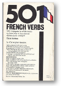 501 French Verbs, 3rd Ed., by Christopher Kendris, 1990