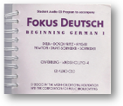 Fokus Deutsch, Beginning German 1, student audio CD program to accompany, 8 audio CDs by Delia et al., 2000