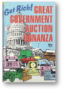 Get Rich! Great Government Auction Bonanza #1051/214 by Globe, 1990