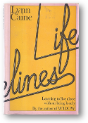 Lifelines, learning to live alone without being lonely by Lynn Caine, 1978