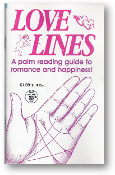 Love Lines, a Globe Mini Mag, a palm reading guide to romance and happiness, #1844/314, 1998