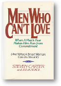 Men Who Can't Love by Steven Carter & Julia Sokol, 1987