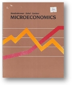 Microeconomics by Bronfenbrenner, Sichel and Gardner, 1984