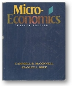 Microeconomics, 12th Ed. by Campbell R. McConnell & Stanley L. Brue, 1993