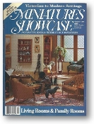 Miniature Showcase: Victorian to Modern Settings, Summer 1990, 5/3