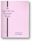 My Christian Pocket Book by Len Gongola, 1991