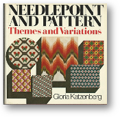 Needlepoint and Pattern,Themes and Variations by Gloria Katzenberg, 1975