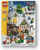 Lego Store Catalog, Holiday 2015, Cover art, Holiday Village